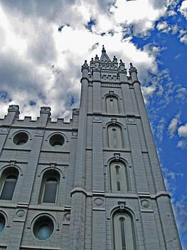 Salt Lake Temple Spire by VaLon Frandsen