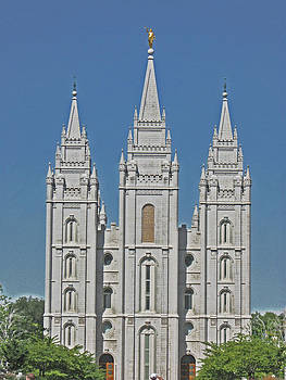 Salt Lake Temple by VaLon Frandsen