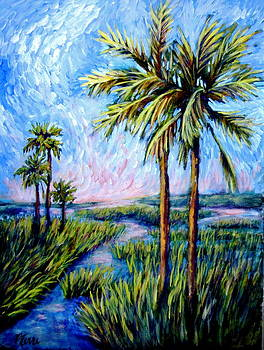 Salt Marsh Palms by Sebastian Pierre