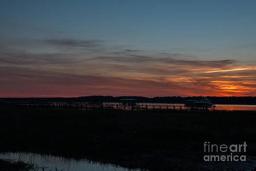 Dale Powell - Salt Marsh Sunset
