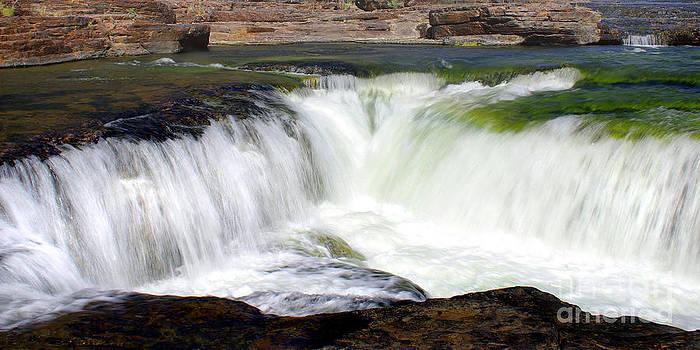 Douglas Taylor - SALT RIVER CANYON WATERFALL PANORAMA