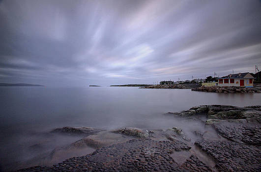 Salthill promenade by Peter Skelton
