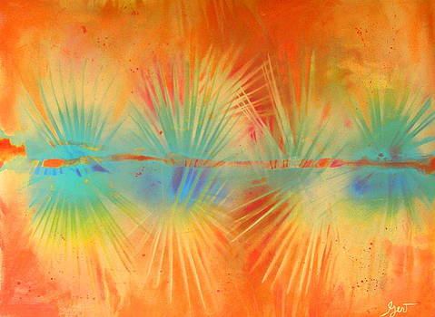 Gertrude Palmer - Salute to the Sun