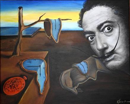 Salvador Dali by ELena Day