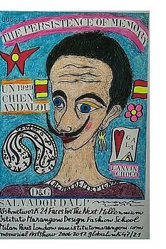 Salvador Dali' by Francesco Martin