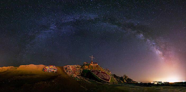 Salvation Mountain by Tassanee Angiolillo