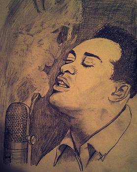Sam Cooke Sings by Rodger Larson