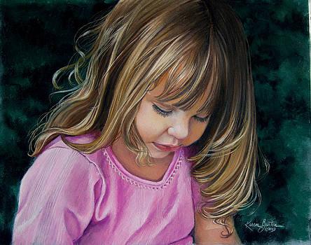 Samantha by Artist Karen Barton