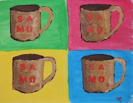 SAMO Mug by Frank Middleton