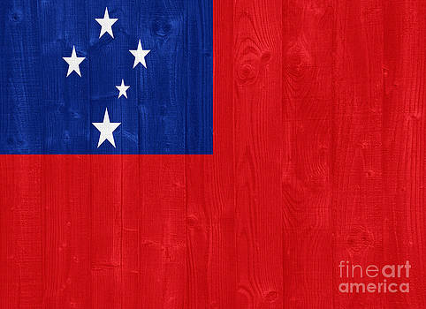 Samoa flag by Luis Alvarenga