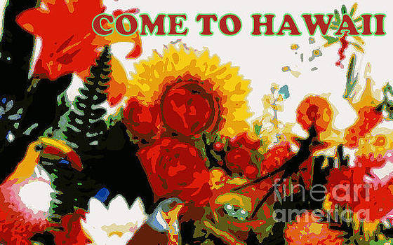 Sample Ad Sign Come to Hawaii by Thomas Smith