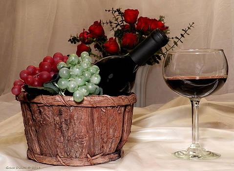 Grace Dillon - Sampling the Wine