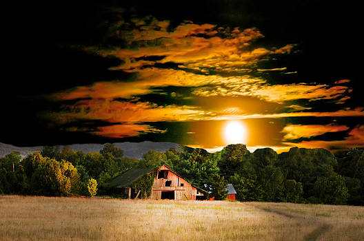 Randall Branham - Sams Road Barn Once ina Blue Moon