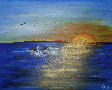 Sam's Sunset by Angie Butler