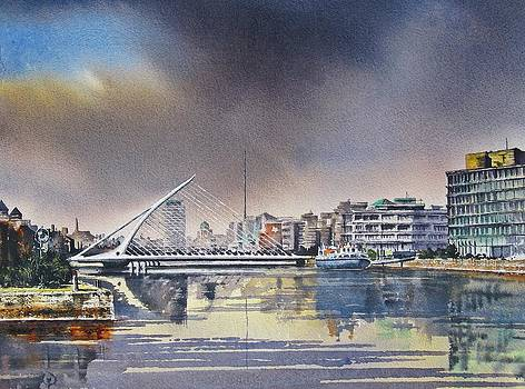 Samuel Beckett Dublin by Roland Byrne