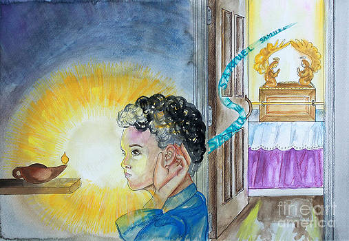 Anne Cameron Cutri - Samuel hears the Lord