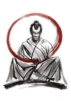 Samurai Enso. by Mariusz Szmerdt