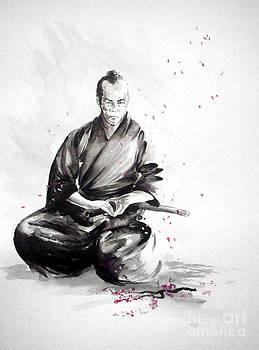 Samurai warrior japanese martial arts. Bushido. by Mariusz Szmerdt