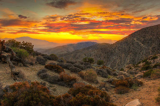 San Andreas Fault Sunset by Jackie Novak