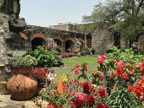 San Antonio Mission by Cindy Croal