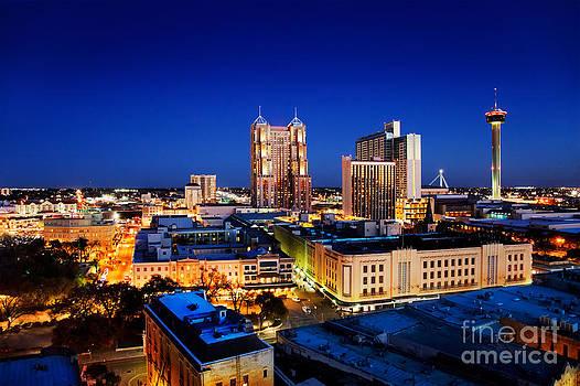 Jo Ann Snover - San Antonio skyline