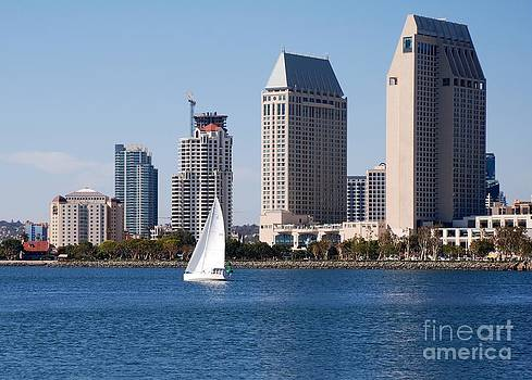 San Diego Bay by Claudia Ellis