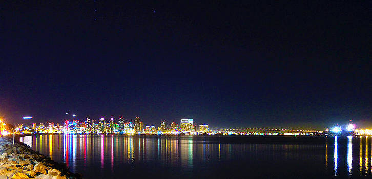 San Diego Nightlights by William  Dorsett