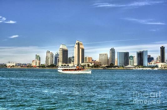 Mel Steinhauer - San Diego Skyline 2