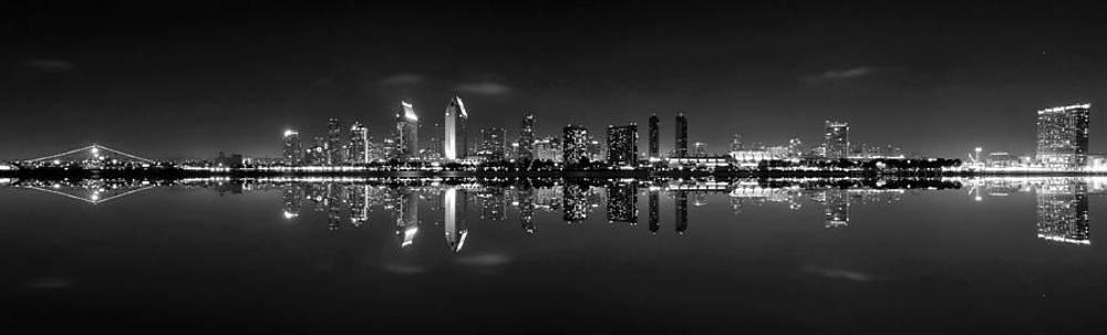 San Diego Skyline Pano by Robert  Aycock