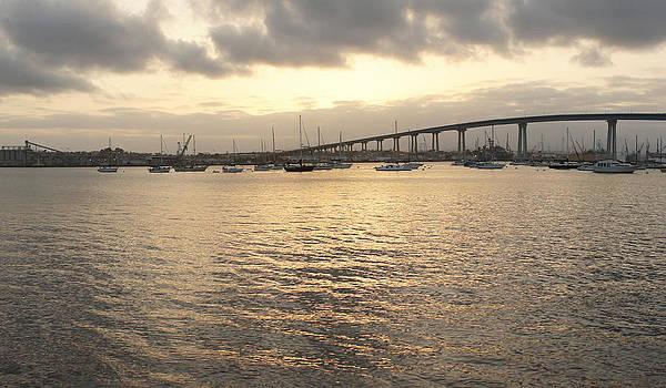 San Diego To Coronado Card by Jeremy McKay