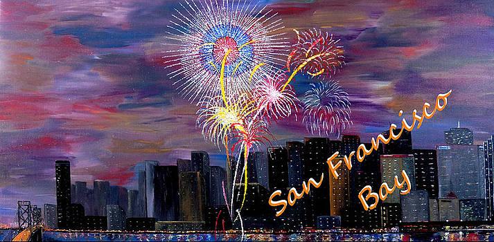 San Francisco Bay City Celebration by Mark Moore