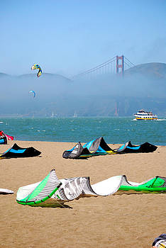 San Francisco Beach by Mamie Gunning