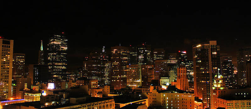 San Francisco by night by Cedric Darrigrand