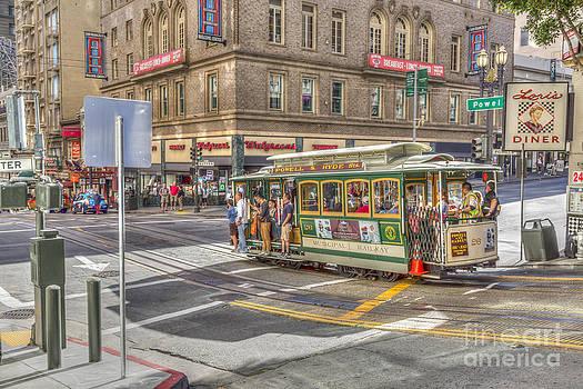 San Francisco Cable Car by Susan Leonard