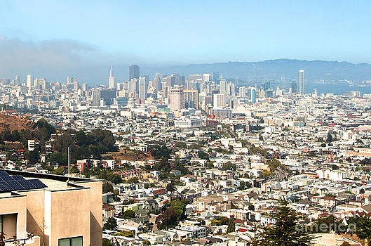 San Francisco City Vista by Artist and Photographer Laura Wrede