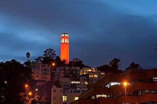 San Francisco Coit Tower by Jorge Guerzon