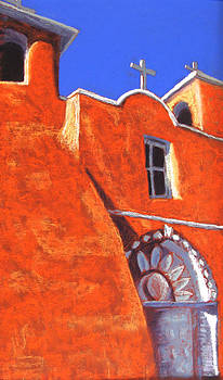 San Francisco de Asis Mission Church by Holly Wright