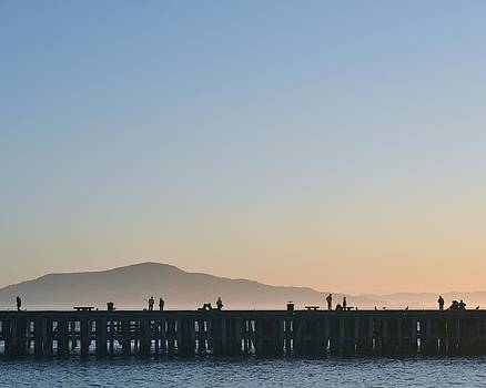 San Francisco Fishing Dock by Stuart Hicks