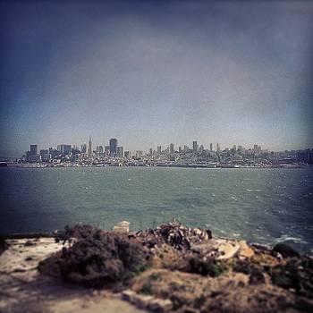 San Francisco From Alcatraz Island by Maureen Bates