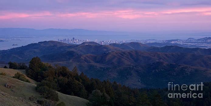San Francisco from Mount Tam by Matt Tilghman