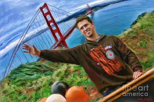 Blake Richards - San Francisco Giants Buster Posey