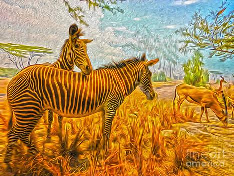 Gregory Dyer - San Francisco - Natural History - Zebras