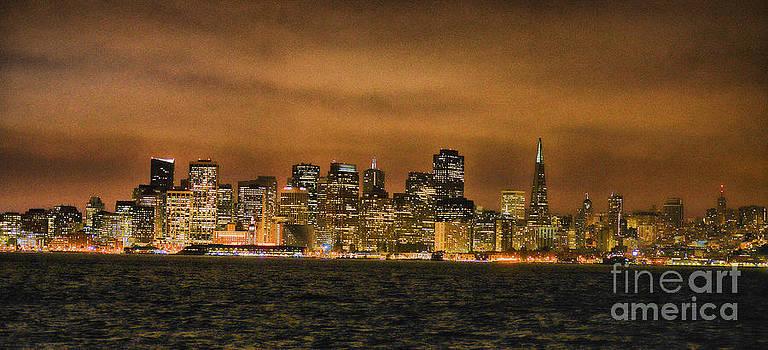San Francisco Skyline by Benny Ventura