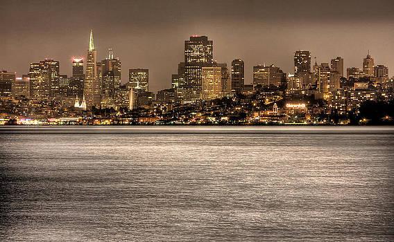 San Francisco Skyline by John Hamlon
