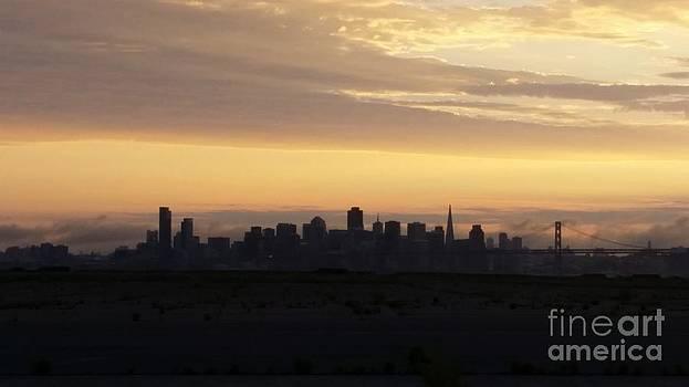 San Francisco Sunset by Brett Chambers