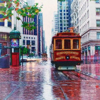 San Francisco Trolley Car by Shawna Mac