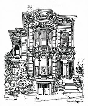San Francisco Victorian   by Ira Shander