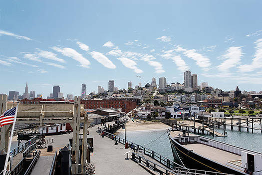 Jo Ann Snover - San Francisco waterfront
