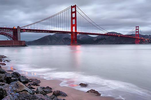 San Francisco's Golden Gate Bridge by Gregory Ballos