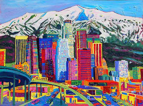 San Gabriel Mountains by Sean Boyce